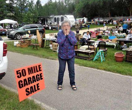 Bitterroot Valley: 50 mile garage sale